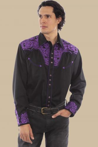 SCULLY P-634 PURPLE FRONT