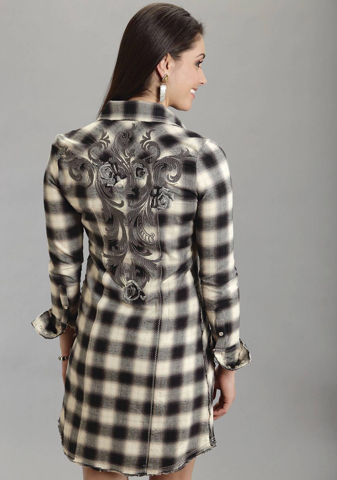 de8b49e8f8 Stetson Women s DECO OMBRE PLAID DRESS