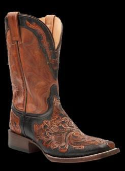 20c58db4ecf Stetson Men s 2-TONE BROWN HAND TOOL Cowboy Boot BR c o