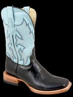 8d4c60ad748 Stetson Ladies BABYBLUE GOAT SHAFT Cowboy Boot