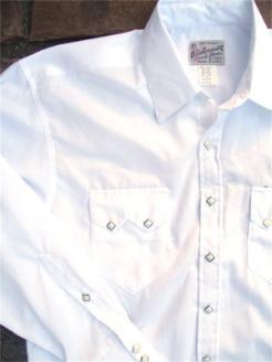 68674dd73c MEN S WESTERN WEAR › Rockmount Men s Wear › Solid › Rockmount Men s WHITE  PINSTRIPE TONE-ON-TONE.  100.00