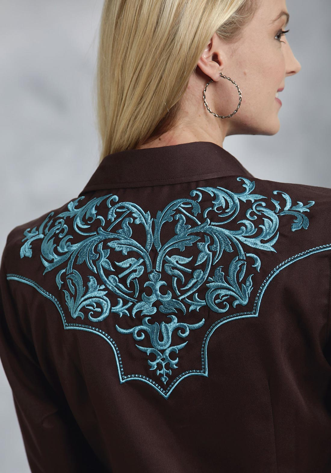 BB Dakota Cheryl Embroidered Denim Shirt at Nordstrom Rack - Womens Blouses  & Shirts - Womens