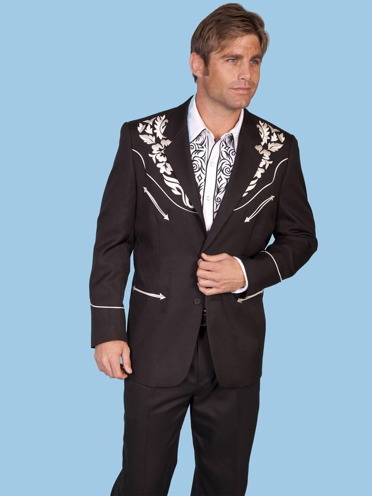 Scully Men's Vanquish Jacket -Silv
