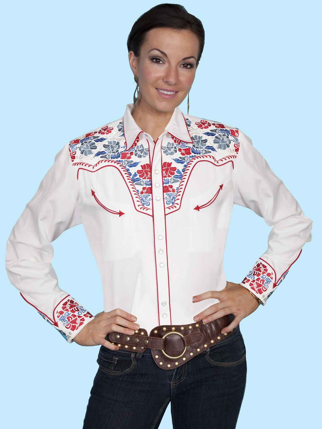 White Ladies Blouses