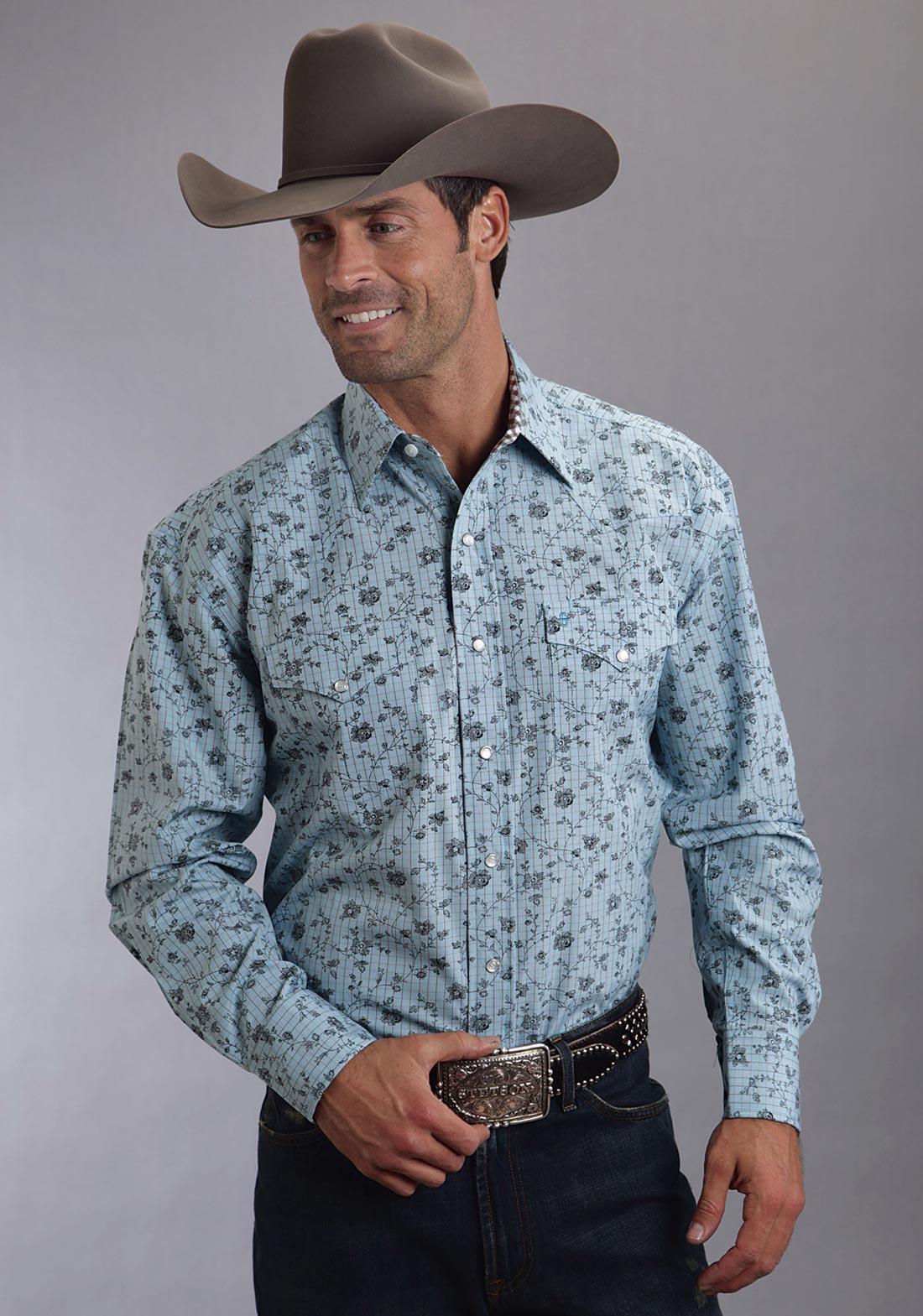 Roper Western Shirts For Men