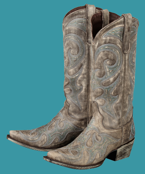 Model Ariat FatBaby Boots Women Cowboy Boots 85 Teal Patent