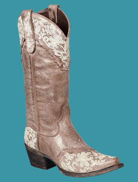 Lane Women S Jeni Lace Cowboy Boots Brown