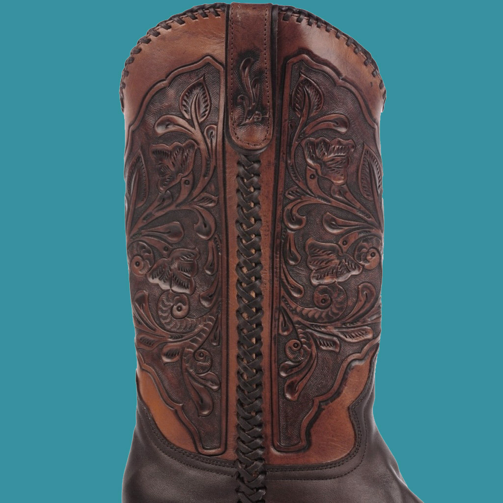 Stetson Men S Hand Tooled Shaft Cowboy Boot Ta C O