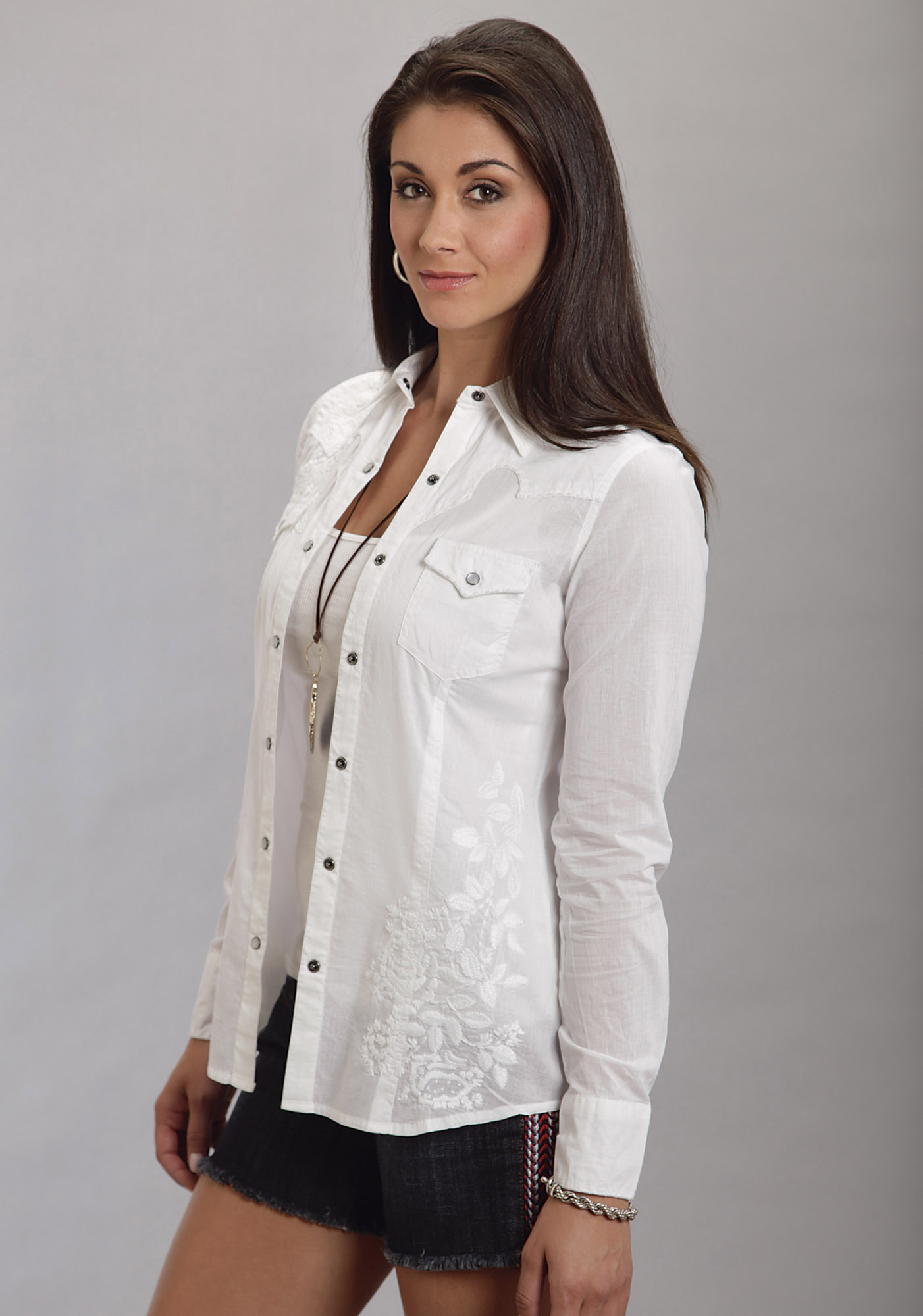 Womens Western shirts are some of the most beautiful, romantic, and sexy shirts designed. Your personal Cowgirl Shoppers here at cuttackfirstboutique.cf have put together a stunning selection of Western styles from long sleeve shirts to sleeveless and some stunning embroidered cuttackfirstboutique.cf sophistication and the romance of the west, but most importantly flatter your figure at the same time.