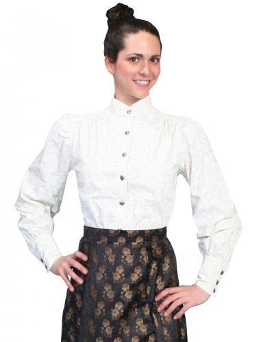 Wahmaker Women's Jennie Blouse-Ivory(710070)