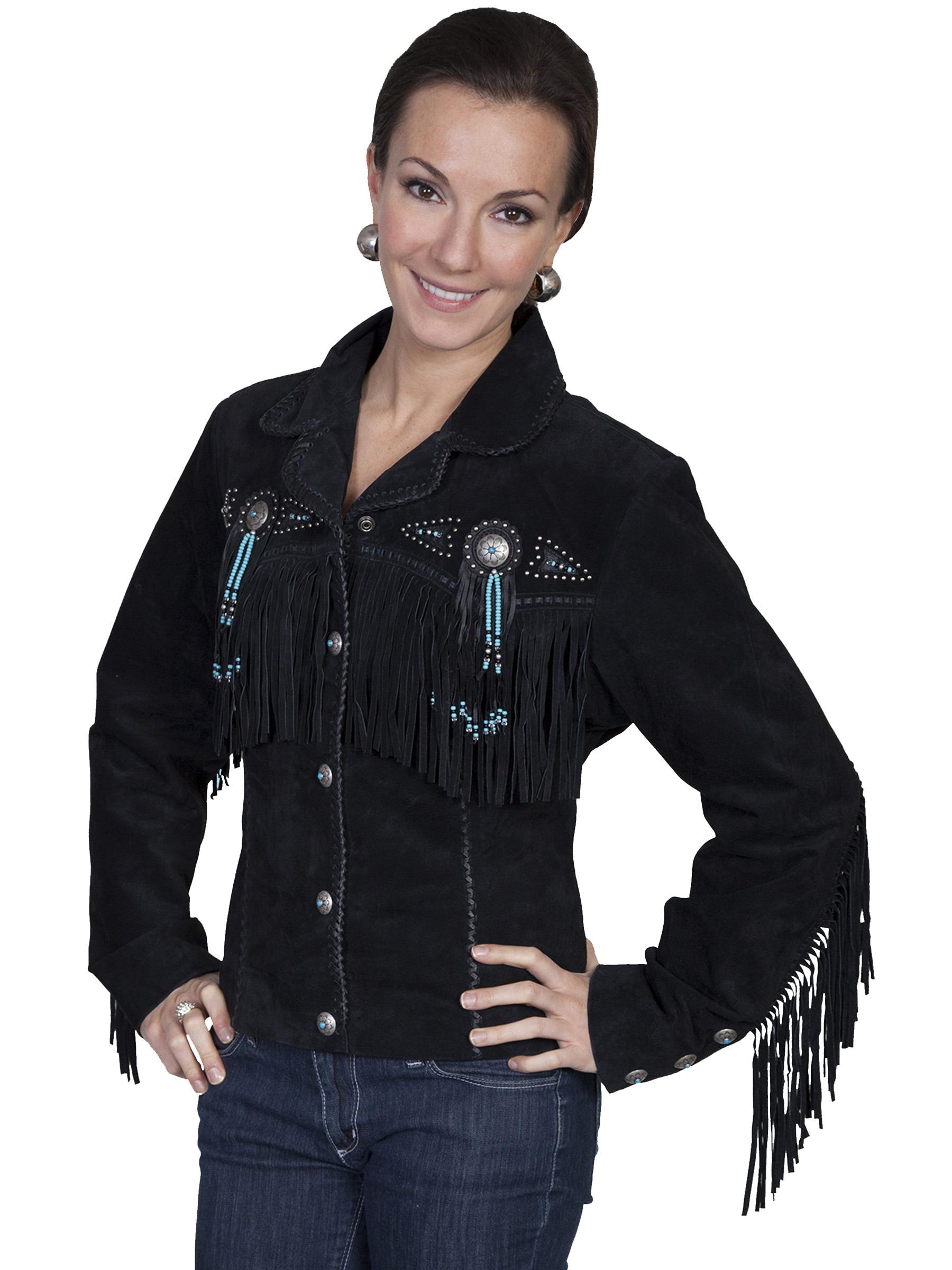 Leather jacket with fringe - Leather Jacket With Fringe 51
