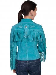 Scully L152-TURQUOISE back