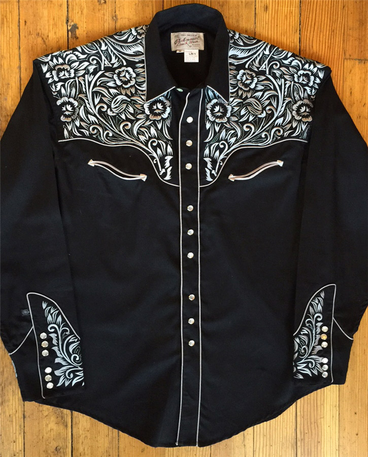 5a44bb2c Rockmount Men's Vintage Tooling II Embroidered WESTERN SHIRT ...