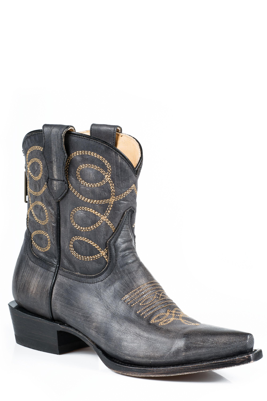 6bd9a25da1c Stetson Women's ABBY Cowboy Boots