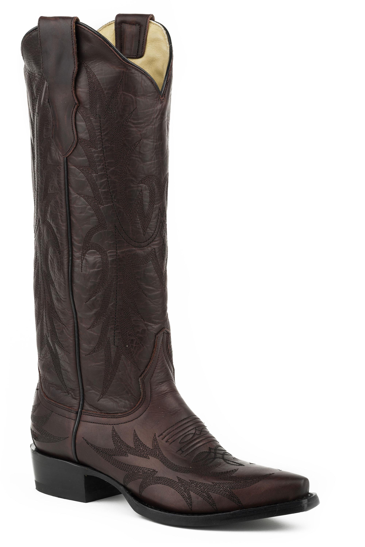stetson s violet cowboy boots