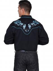 SCULLY P-844X-BLK BACK
