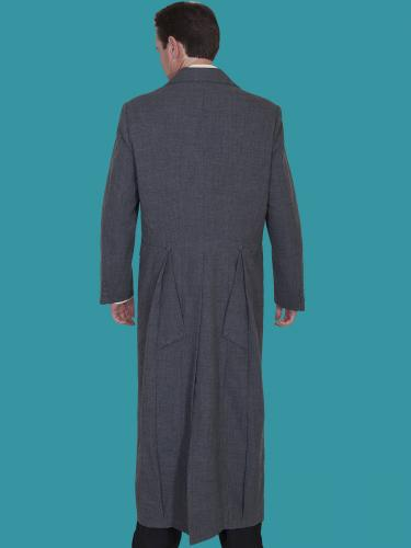 WAHMAKER Long Frock Coat-HEATHER BACK