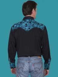 SCULLY P-634 TURQUOISE BACK