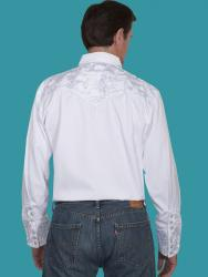 SCULLY P-634 WHITE BACK