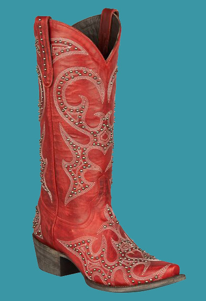 6ad18e7af24 ... Women s Lovesick Stud Boot Boots- Red. Lane LB0199C. CLICK TO ENLARGE