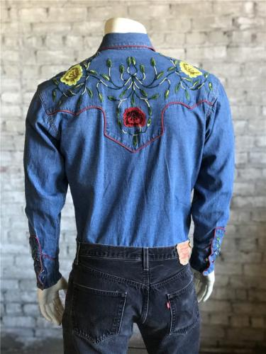 ROCKMOUNT 6857 DENIM BACK