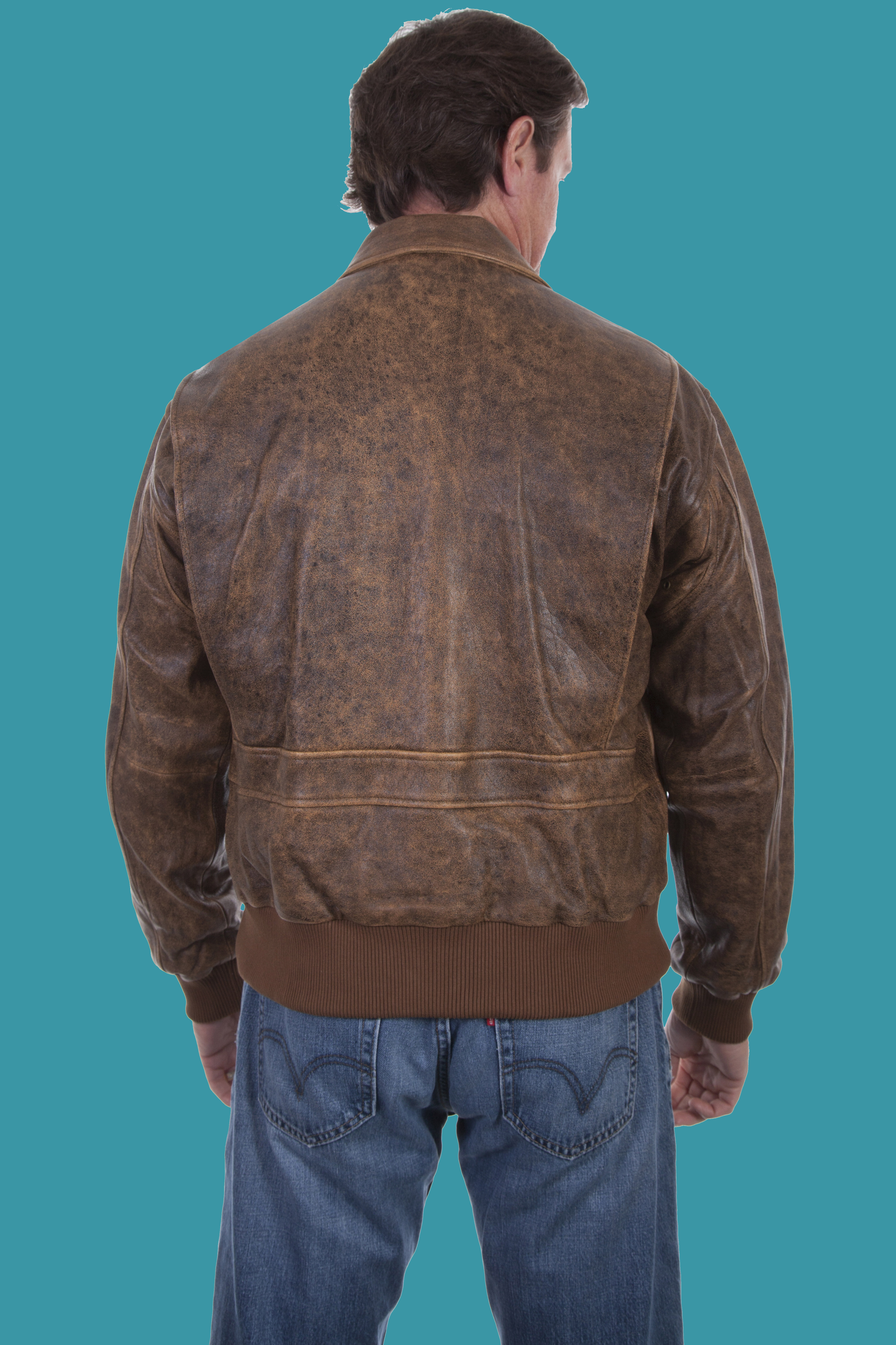 92a21062b Scully Bomber Jacket Rugged Lamb ANTIQUE BROWN