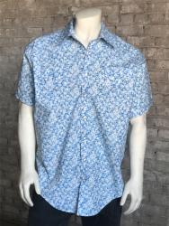 18984081 ROCKMOUNT Hawaiian Short Sleeve Western SNAP Shirt