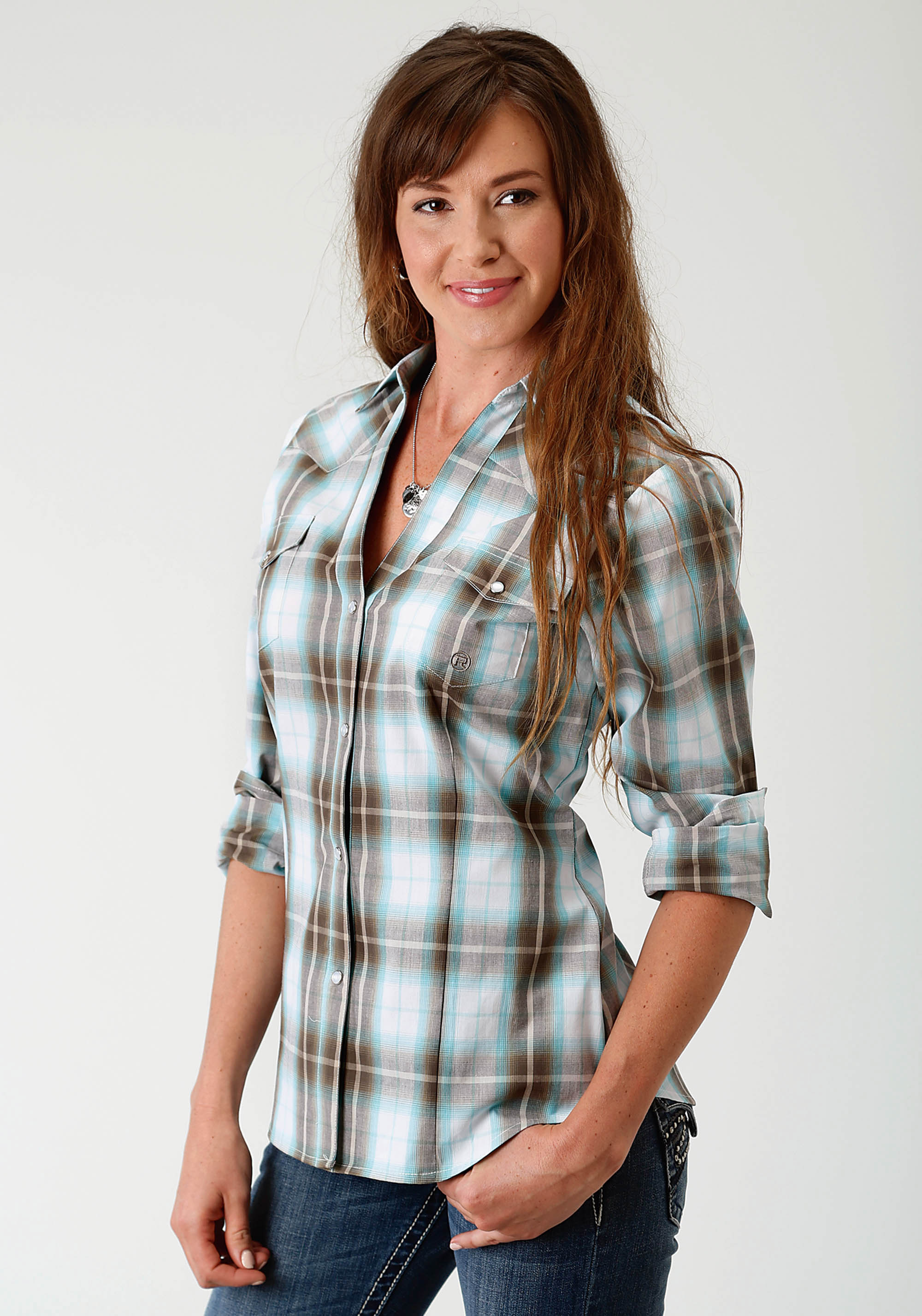ad7eeb8733 Womens Plaid Western Shirt – EDGE Engineering and Consulting Limited