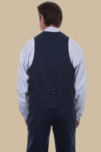 SCULLY RW041-NAVY BACK