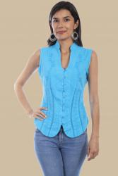 SCULLY PSL-059 TURQUOISE FRONT