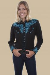 SCULLY PL-654-TURQUOISE  FRONT